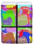 Eight Horses Duvet Cover by Patrick J Murphy