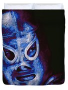 El Santo The Masked Wrestler 20130218m168 Duvet Cover by Wingsdomain Art and Photography