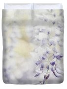 Elegant Wisteria Duvet Cover by Darren Fisher