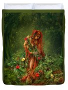 Elements - Earth Duvet Cover by Cassiopeia Art