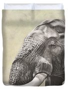 Elephant Duvet Cover by Ashleigh Dix
