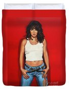 Ellen ten Damme Duvet Cover by Paul  Meijering