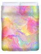 Eloquence - Abstract Art Duvet Cover by Jaison Cianelli