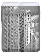 Emergency Exit Chicago Il Duvet Cover by Christine Till