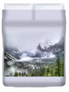 Enchanted Valley Duvet Cover by Bill Gallagher