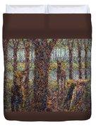 Encounter Duvet Cover by James W Johnson