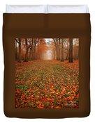Endless Autumn Duvet Cover by Photodream Art