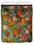 Endplate From A Turkish Book Duvet Cover by Turkish School