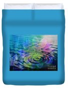 Energy Ripples Duvet Cover by PainterArtist FIN