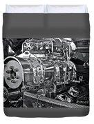 Engine Envy Duvet Cover by Linda Bianic