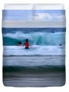 Enjoy The Ocean 2 Duvet Cover by Hannes Cmarits