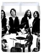Epic The Beatles Duvet Cover by Iconic Images Art Gallery David Pucciarelli