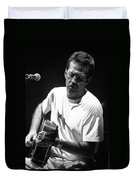 Eric Clapton 003 Duvet Cover by Timothy Bischoff