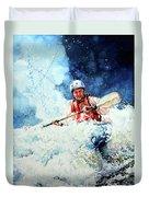 Eskimo Rolls Duvet Cover by Hanne Lore Koehler