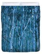 Eucalyptus Forest Duvet Cover by Frank Tschakert