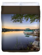 Evening Calm Duvet Cover by Evelina Kremsdorf