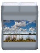 Everglades Lake 6853 Duvet Cover by Rudy Umans
