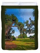 Evergreen Plantation II Duvet Cover by Steve Harrington