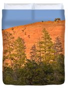 Every Tree in Its Shadow Duvet Cover by Christine Till