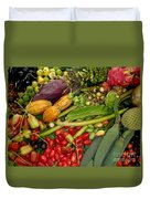 Exotic Fruits Duvet Cover by Carey Chen