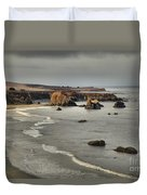 Faint Patches Of Sun Duvet Cover by Adam Jewell