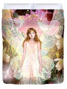 Fairy Crowning Duvet Cover by Garry Walton