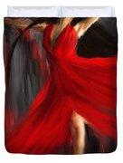 Fairy On Earth Duvet Cover by Lourry Legarde