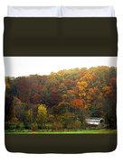 Fall At Valley Forge Duvet Cover by Skip Willits