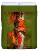 Fall Beauty Duvet Cover by Sharon Elliott