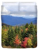Fall Foliage Duvet Cover by Kerri Mortenson