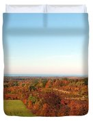 Fall Landscape Duvet Cover by Kathleen Struckle