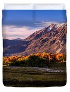 Fall Meadow Duvet Cover by Chad Dutson