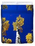Falling Leaf Duvet Cover by Chad Dutson