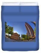 Faneuil Hall Square Duvet Cover by Joann Vitali
