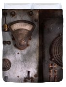 Fantasy - A tribute to Steampunk Duvet Cover by Mike Savad