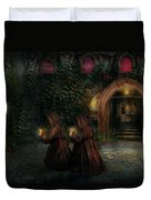 Fantasy - Into The Night Duvet Cover by Mike Savad
