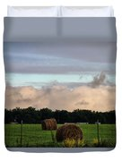 Farm Field Drama Duvet Cover by Dan Sproul