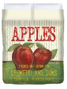 Farm Fresh Fruit 3 Duvet Cover by Debbie DeWitt