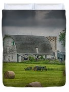 Farm Scene Duvet Cover by Paul Freidlund