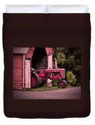 Farmall 200 Duvet Cover by Robert Geary