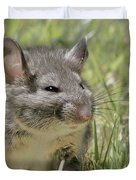 Fat Norway Rat Duvet Cover by Christine Till
