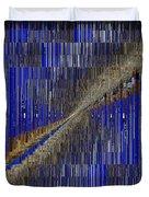 Fault Line Blues Duvet Cover by Tim Allen