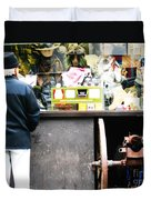 Fear Sells Duvet Cover by Kevin J Cooper Artwork