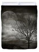 February Tree Duvet Cover by Taylan Soyturk