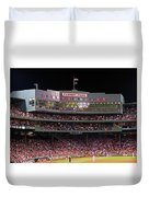 Fenway Park Duvet Cover by Juergen Roth