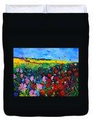 Field Flowers Duvet Cover by Pol Ledent