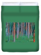 Finland Forest Duvet Cover by Heiko Koehrer-Wagner
