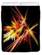 Fireworks Duvet Cover by Anastasiya Malakhova