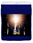 Fireworks Finale Duvet Cover by Frozen in Time Fine Art Photography