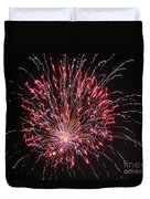 Fireworks For All Duvet Cover by Terry Weaver
